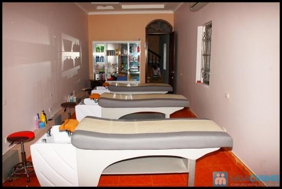 Tận hưởng 75 phút Massage đá nóng với tinh dầu Oliu tại Hair&Spa Trang A Thành chỉ với 100.000đ - 1