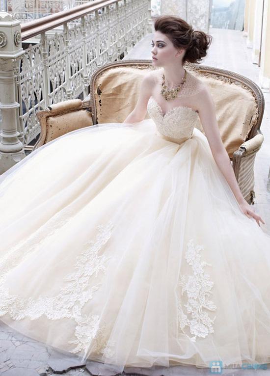 Chương trình Bán và cho Thuê váy cưới, váy chụp, dạ hội, và váy ngắn - Chỉ với 100.000đ được phiếu trị giá 3.000.000đ - 1