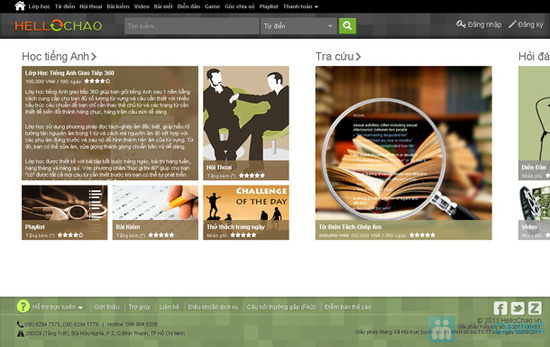 Thẻ học tiếng Anh trực tuyến HelloChao.vn cho 360 ngày,  tặng thêm 01 thẻ học 180 ngày - Chỉ 100.000đ - 1