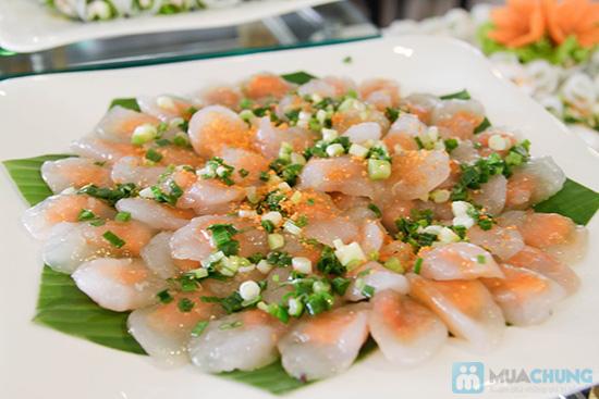 Thưởng thức buffet trưa với hơn 60 món tại nhà hàng Quê Hương. Chỉ 140.000đ/ 01 người - 11
