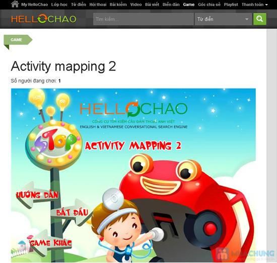 Thẻ học tiếng Anh trực tuyến HelloChao.vn cho 360 ngày,  tặng thêm 01 thẻ học 180 ngày - Chỉ 100.000đ - 10