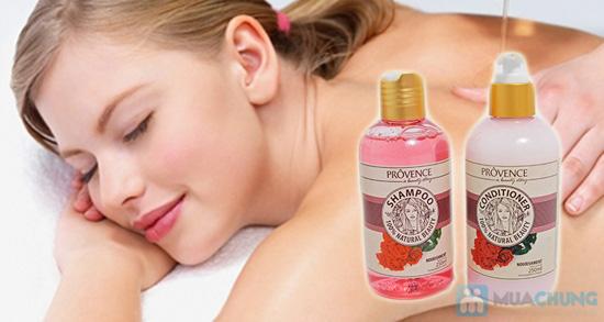 Bộ sản phẩm Prôvence hương hoa hồng: 01 dầu gội, 01 dầu xả và 01 bánh xà phòng - Chỉ 118.000đ/1 Bộ - 6