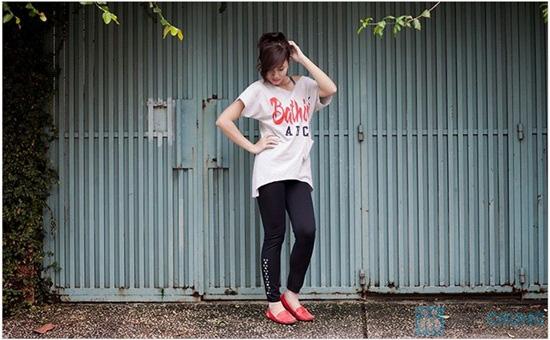 Quần legging đính đá - Thời trang, năng động và trẻ trung dành cho bạn gái - Chỉ 58.000đ/ 1 chiếc - 2