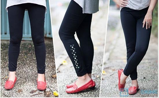 Quần legging đính đá - Thời trang, năng động và trẻ trung dành cho bạn gái - Chỉ 58.000đ/ 1 chiếc - 1