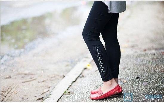 Quần legging đính đá - Thời trang, năng động và trẻ trung dành cho bạn gái - Chỉ 58.000đ/ 1 chiếc - 3