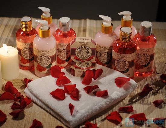 Bộ sản phẩm Prôvence hương hoa hồng: 01 dầu gội, 01 dầu xả và 01 bánh xà phòng - Chỉ 118.000đ/1 Bộ - 1