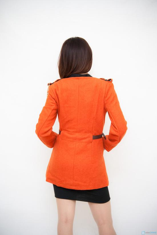 Áo dạ kèm thắt lưng - 3
