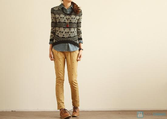 Áo len nữ dáng rộng cách điệu thời trang cho bạn gái - Chỉ với 140.000đ - 9
