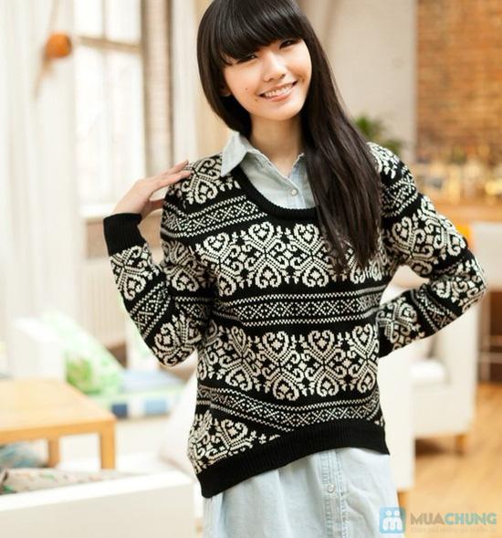 Áo len nữ dáng rộng cách điệu thời trang cho bạn gái - Chỉ với 140.000đ - 2