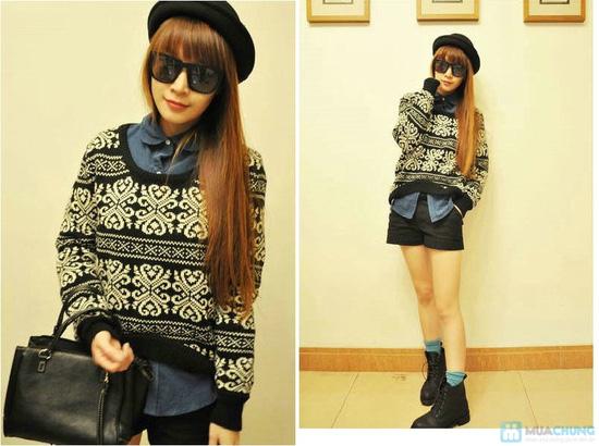Áo len nữ dáng rộng cách điệu thời trang cho bạn gái - Chỉ với 140.000đ - 8