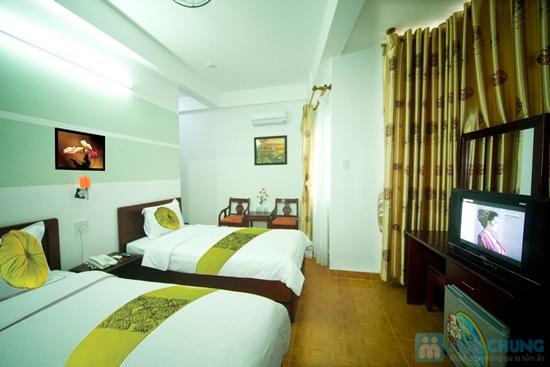 Khách sạn Ken - trung tâm thành phố biển Nha Trang. Phòng tiện nghi cho 02 người. Chỉ 350.000đ/02 đêm - 3