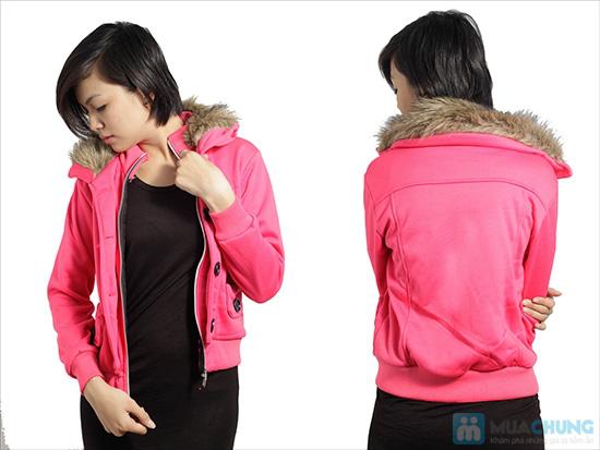 Áo khoác cổ lông ấm áp, phong cách Tây Âu, cho bạn gái vẻ ngoài sành điệu - Chỉ 120.000đ/ 01 áo - 7