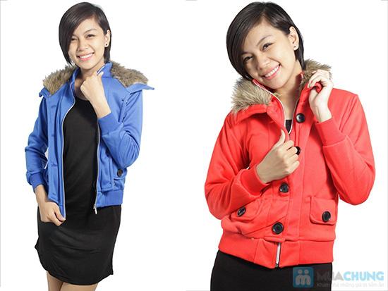 Áo khoác cổ lông ấm áp, phong cách Tây Âu, cho bạn gái vẻ ngoài sành điệu - Chỉ 120.000đ/ 01 áo - 4