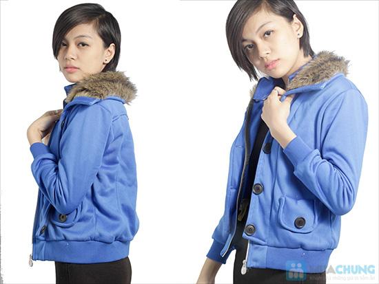 Áo khoác cổ lông ấm áp, phong cách Tây Âu, cho bạn gái vẻ ngoài sành điệu - Chỉ 120.000đ/ 01 áo - 6
