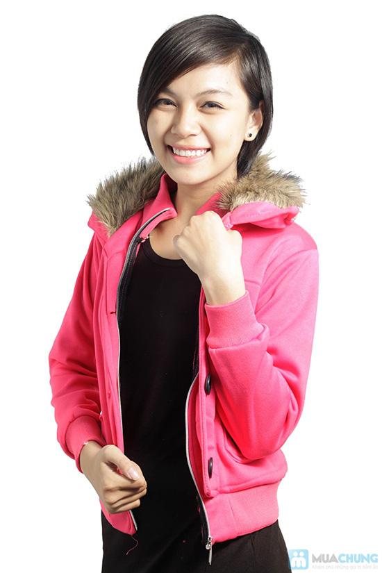 Áo khoác cổ lông ấm áp, phong cách Tây Âu, cho bạn gái vẻ ngoài sành điệu - Chỉ 120.000đ/ 01 áo - 3