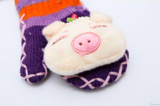 Combo 2 đôi găng tay hình thú cho bé yêu - Ấm áp và dễ thương - 3