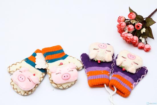 Combo 2 đôi găng tay hình thú cho bé yêu - Ấm áp và dễ thương - 1