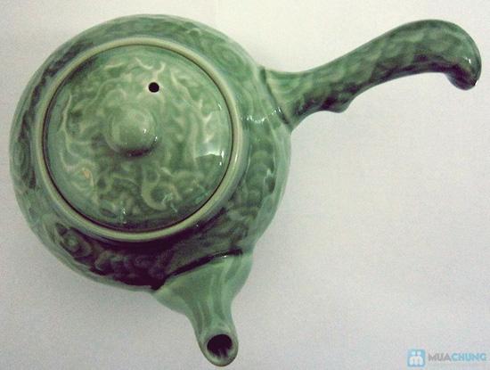 Bộ ấm trà men ngọc Hàn Quốc - quà tặng ý nghĩa cho ngày 20/11 - Chỉ 135.000đ/bộ - 5