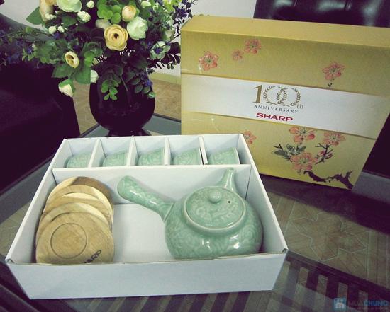 Bộ ấm trà men ngọc Hàn Quốc - quà tặng ý nghĩa cho ngày 20/11 - Chỉ 135.000đ/bộ - 7