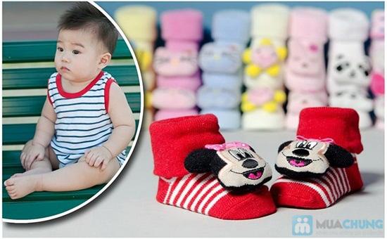 Tất 3D dành cho trẻ em - Ấm áp và cực đáng yêu cho bé - Chỉ 82.000đ/ 02 đôi - 6