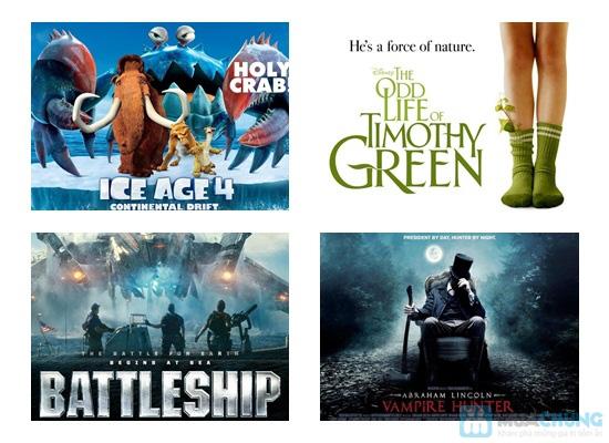 Thỏa sức thư giãn với những bộ phim bom tấn hoành tráng tại Cinema HD - 3D - Chỉ 55.000đ/01 suất - 1