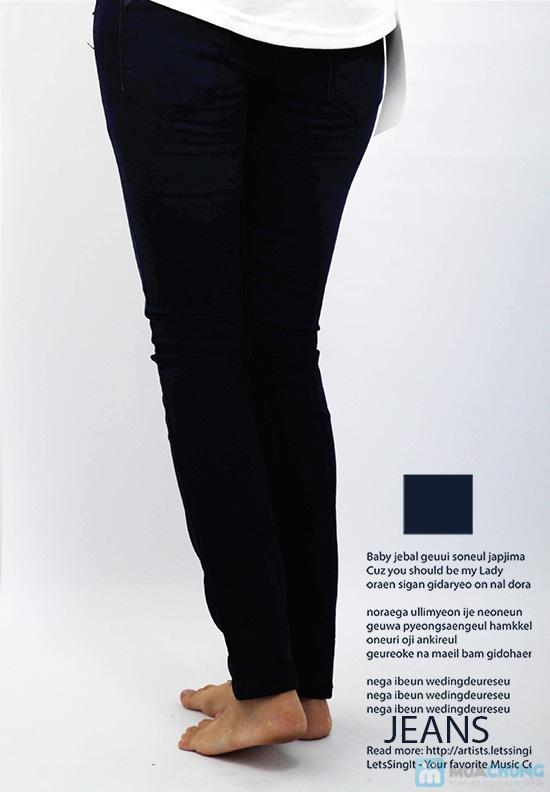 Quần jean dài cho nữ - co giãn 4 chiều - Chỉ 125.000đ/01 chiếc - 6