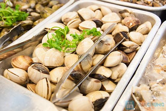 Buffet hải sản Happy Tôm - với hơn 70 món khác nhau - Chỉ với 329.000đ/ 01 người - 11