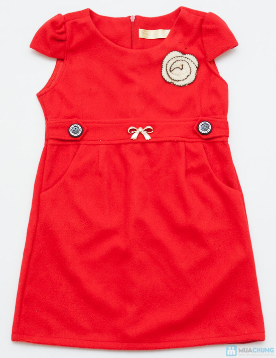 Váy dạ xinh xinh cho bé gái - Ấm áp và thời trang - Chỉ với 115.000đ  - 7
