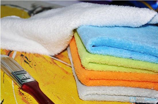 Combo 03 khăn lau siêu sạch - lau chùi không cần hóa chất - Chỉ 45.000đ - 9