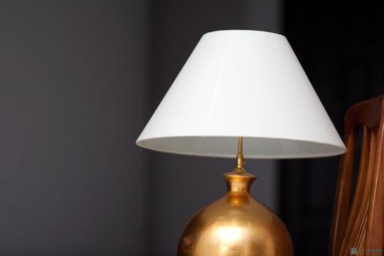 Đèn ngủ thân gốm cỡ lớn - 4