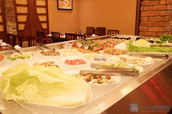 Buffet nướng & lẩu hải sản tại nhà hàng BBQ House - Chỉ 252.000đ/ 01 người - 3
