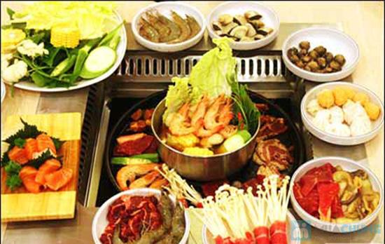 Buffet nướng & lẩu hải sản tại nhà hàng BBQ House - Chỉ 252.000đ/ 01 người - 13
