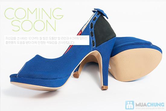 Giày cao gót nữ đính nơ - Giúp dáng đi bạn gái thêm uyển chuyển - Chỉ 165.000đ/01 đôi - 6