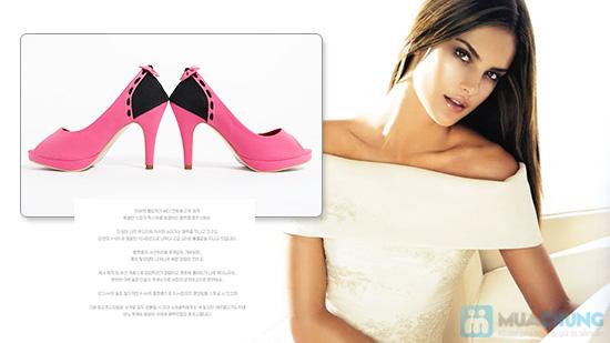 Giày cao gót nữ đính nơ - Giúp dáng đi bạn gái thêm uyển chuyển - Chỉ 165.000đ/01 đôi - 7