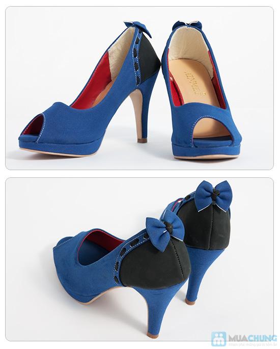 Giày cao gót nữ đính nơ - Giúp dáng đi bạn gái thêm uyển chuyển - Chỉ 165.000đ/01 đôi - 4