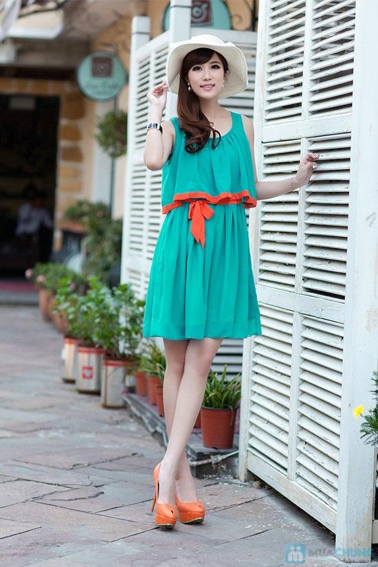 Bạn gái dịu dàng và xinh xắn với đầm Tina kèm thắt lưng thời trang - Chỉ 145.000đ/01 chiếc - 2