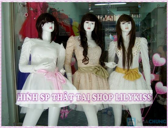 Phiếu mua đầm xòe công chúa và sare cưới xinh xắn tại Shop LILYKISS - Chỉ 85.000đ được phiếu 200.000đ - 16