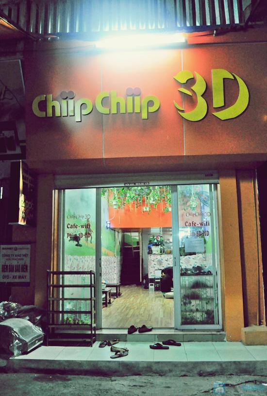 Xem phim HD + Đồ ăn nhẹ cho 2-3 người tại ChipChip 3D Cafe - Chỉ 110.000đ - 23