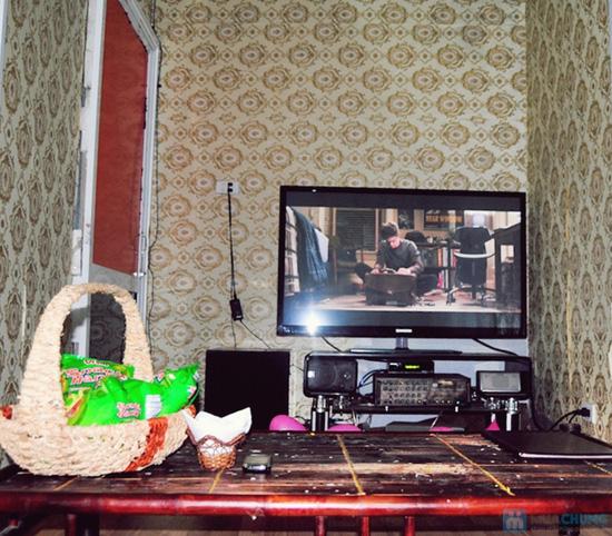 Xem phim HD + Đồ ăn nhẹ cho 2-3 người tại ChipChip 3D Cafe - Chỉ 110.000đ - 22
