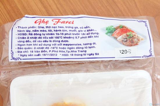 Combo ghẹ Farci và Bánh mực tẩm bột xù - Chỉ với 110.000đ - 4
