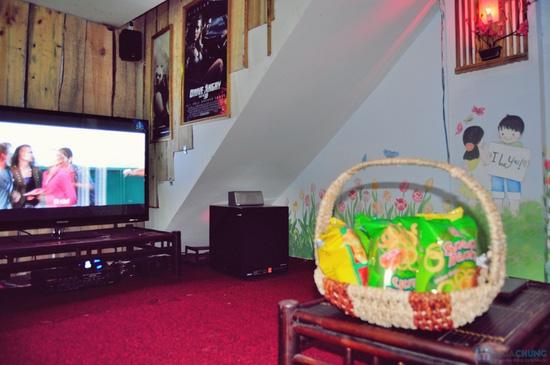 Xem phim HD + Đồ ăn nhẹ cho 2-3 người tại ChipChip 3D Cafe - Chỉ 110.000đ - 13