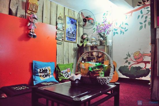 Xem phim HD + Đồ ăn nhẹ cho 2-3 người tại ChipChip 3D Cafe - Chỉ 110.000đ - 11