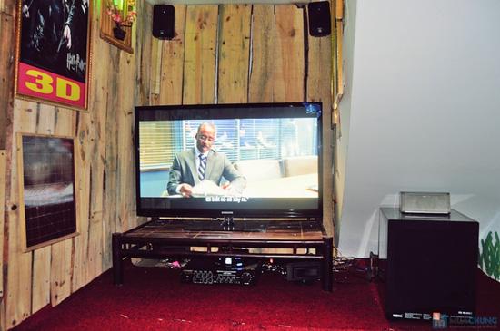 Xem phim HD + Đồ ăn nhẹ cho 2-3 người tại ChipChip 3D Cafe - Chỉ 110.000đ - 15