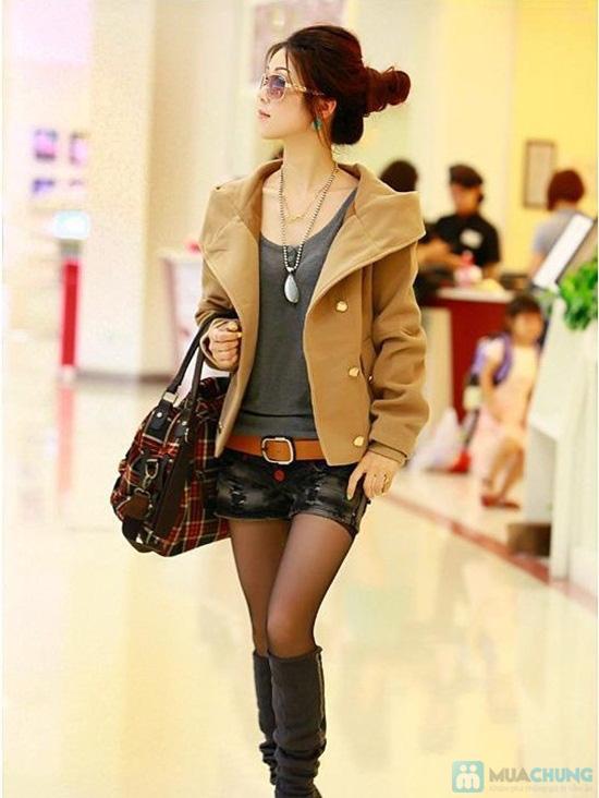 Tinh nghịch và thời trang với áo khoác cài nút cho nữ - Chỉ 120.000đ/01 chiếc - 3