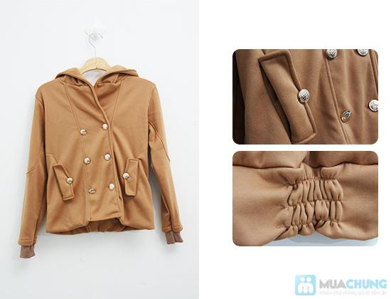 Tinh nghịch và thời trang với áo khoác cài nút cho nữ - Chỉ 120.000đ/01 chiếc - 8