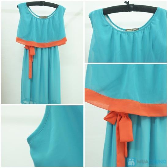 Bạn gái dịu dàng và xinh xắn với đầm Tina kèm thắt lưng thời trang - Chỉ 145.000đ/01 chiếc - 1