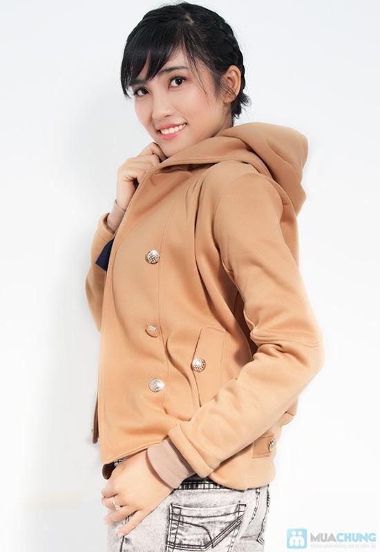 Tinh nghịch và thời trang với áo khoác cài nút cho nữ - Chỉ 120.000đ/01 chiếc - 2