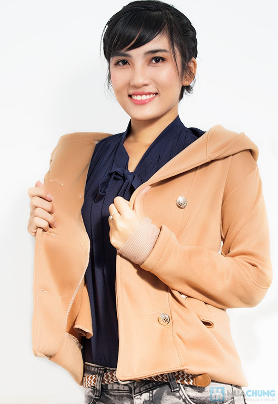 Tinh nghịch và thời trang với áo khoác cài nút cho nữ - Chỉ 120.000đ/01 chiếc - 1