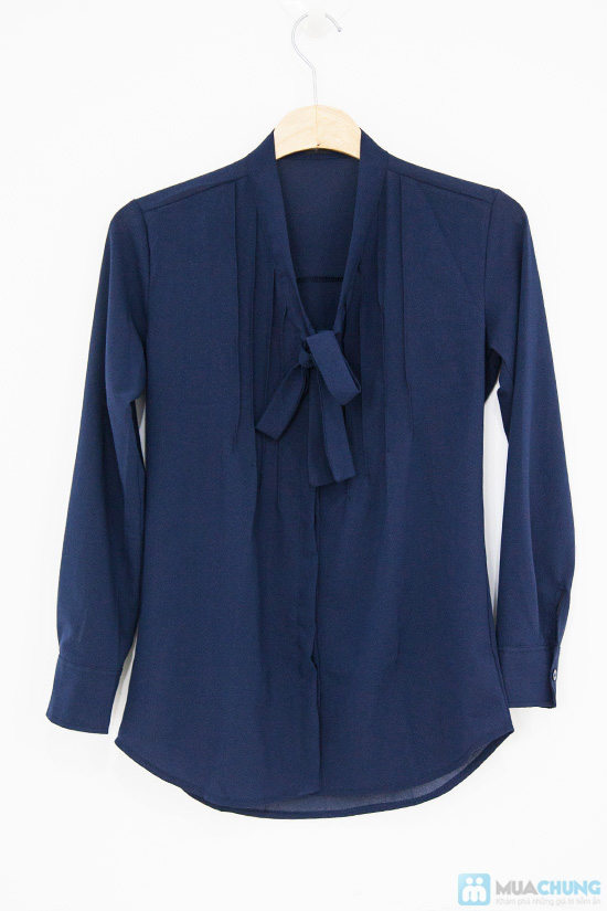 Trẻ trung và phong cách với chiếc áo sơ mi nơ xinh xắn - Chỉ 115.000đ/01 chiếc - 5