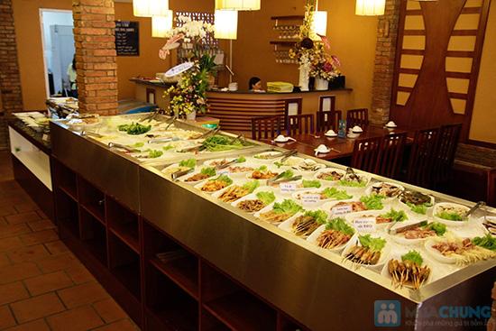 Buffet nướng & lẩu hải sản tại nhà hàng BBQ House - Chỉ 252.000đ/ 01 người - 1